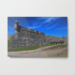 Castillo de San Marcos III Metal Print