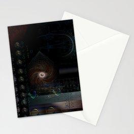 Engulfing the Iris Stationery Cards