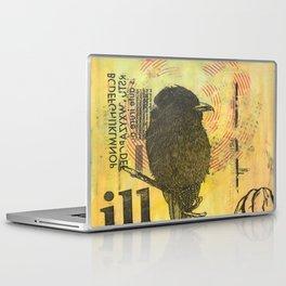 Bird illustration Laptop & iPad Skin