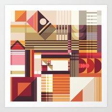 Pattern No.5 Art Print