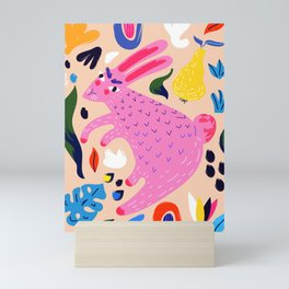 Pink Bunny Mini Art Print