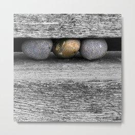 Cromer Pebbles Metal Print