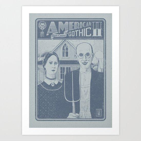 American Gothic II Art Print