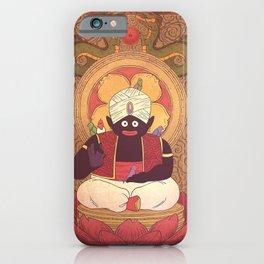 Enlightened Mr. Popo iPhone Case