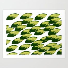 When All of the Leaves Fell Art Print