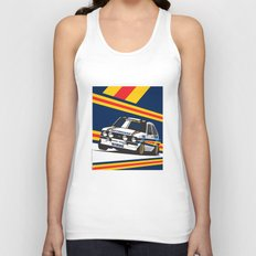 Ford Escort RS2000 Unisex Tank Top