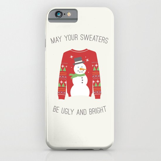 Ugly Sweater iPhone & iPod Case