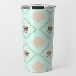 Sra. Pug Travel Mug