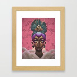 Circlet Framed Art Print