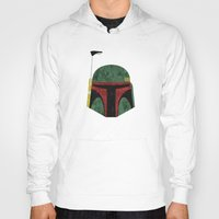 boba fett Hoodies featuring Boba Fett by Some_Designs