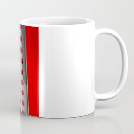 The Bee has the entry of the hive Coffee Mug