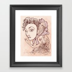 Unnaturally Adorable Framed Art Print