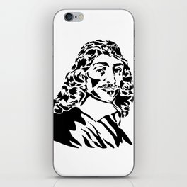 Rene Descartes iPhone Skin