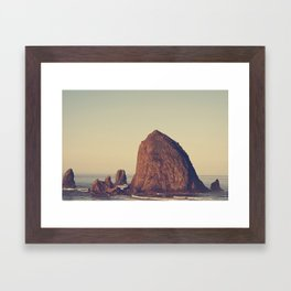 Oregon Ocean Framed Art Print