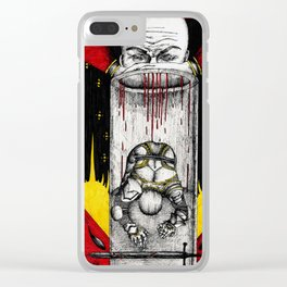 The tortured Templar Clear iPhone Case