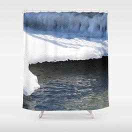 Meltdown Shower Curtain