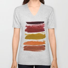 A World With Octobers Unisex V-Neck