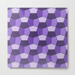 Geometrix VII Metal Print