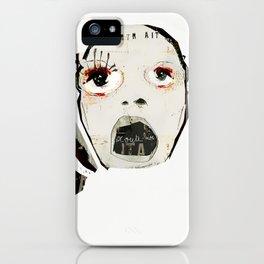 « l'enfermée » iPhone Case