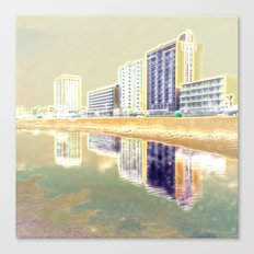 Oceanfront Reflections Canvas Print