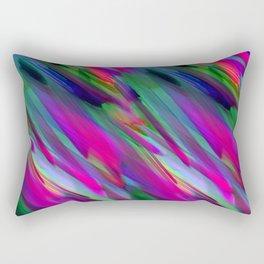 Colorful digital art splashing G400 Rectangular Pillow