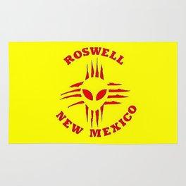 Roswell Alien Zia Rug