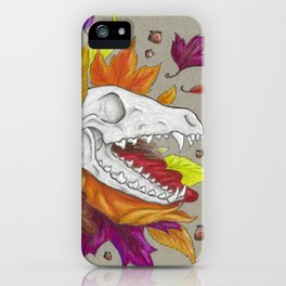 Fox Skull iPhone Case