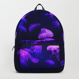 Jellyfish - purple and pink Backpack