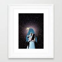 lsd Framed Art Prints featuring LSD by Mrs Araneae
