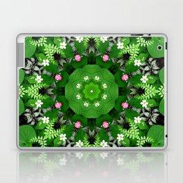 Fern and friends kaleidoscope, mandala - Maidenhair, Adiantum 899 kal 15 s6-4 Laptop & iPad Skin