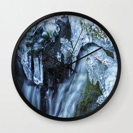 Ice and Water, No. 2 Wall Clock