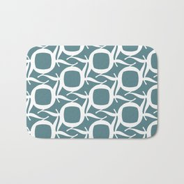 Baskerville Q Pattern Bath Mat
