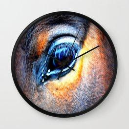 eye of horse Wall Clock