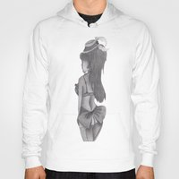burlesque Hoodies featuring burlesque baby by Scenccentric Creations