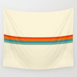 Delanoh - Colorful Abstract Stripes Wall Tapestry