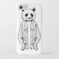 pandas iPhone & iPod Cases featuring Pandas by Benson Koo