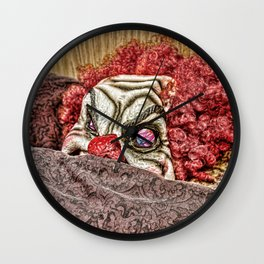 Undercover Agent Wall Clock