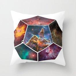 Universal Geometry no.3 Dodecagon Throw Pillow