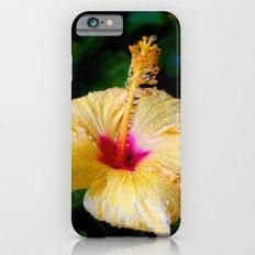 Wet Hibiscus version 2 iPhone 6s Slim Case