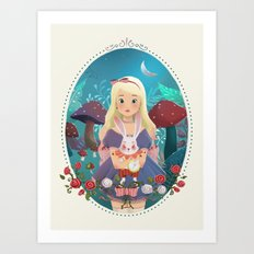 Alice in Wondeland Art Print