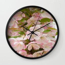 Spring Flourishing Wall Clock