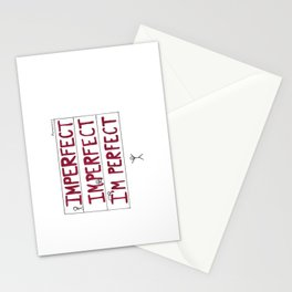 I'm Perfect Stationery Cards