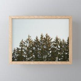 Looking Onward Framed Mini Art Print
