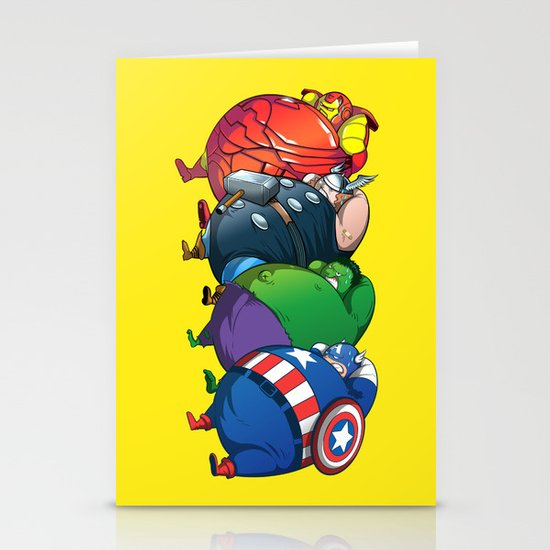 TUBY : Avengers Stationery Cards