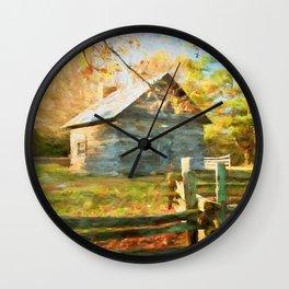 Pucketts Cabin Wall Clock