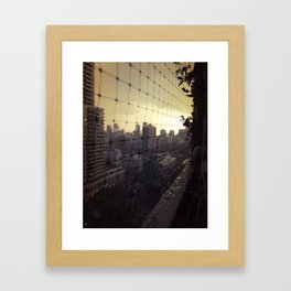 City Slicker Framed Art Print