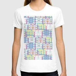 Miami Art Deco Landmarks T-shirt
