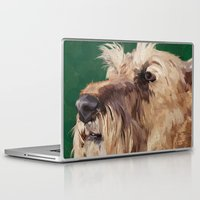 irish Laptop & iPad Skins featuring Irish terrier by Carl Conway
