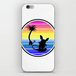 Surf Alola iPhone Skin