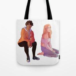 Dan and Allison Tote Bag
